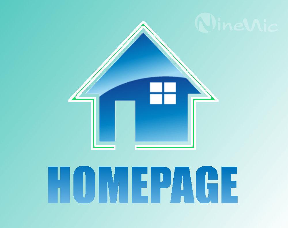 เว็บไซต์สำเร็จรูป ninenic : เว็บเพจ-กำหนดเว็บเพจหน้าแรก homepage setting